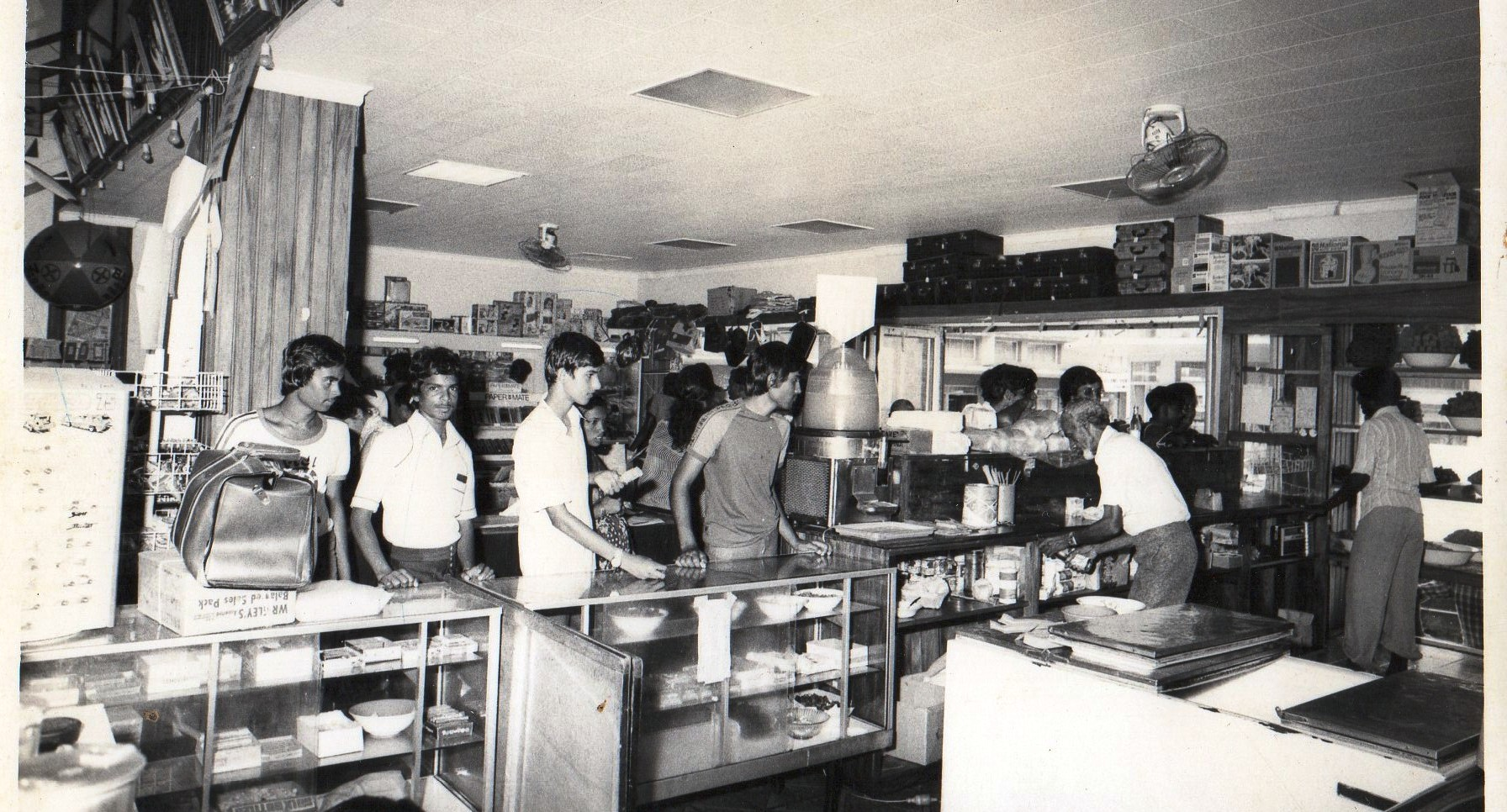 Bhikhabhai Shop_early1980's_Sweets Counter
